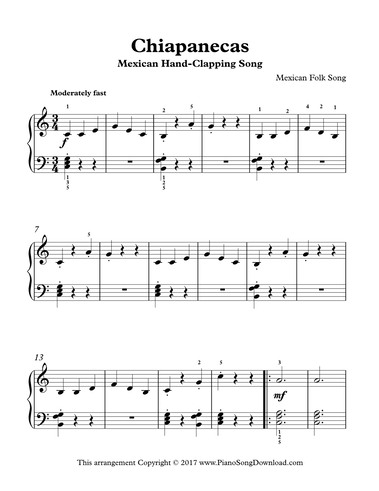 Mexican Hand-Clapping Song - Chiapanecas